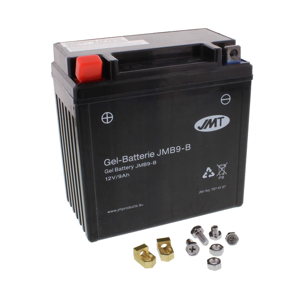 GEL Batterie YB9-B Piaggio Ape 50 Web Cross C8000 Bj 2001-2008